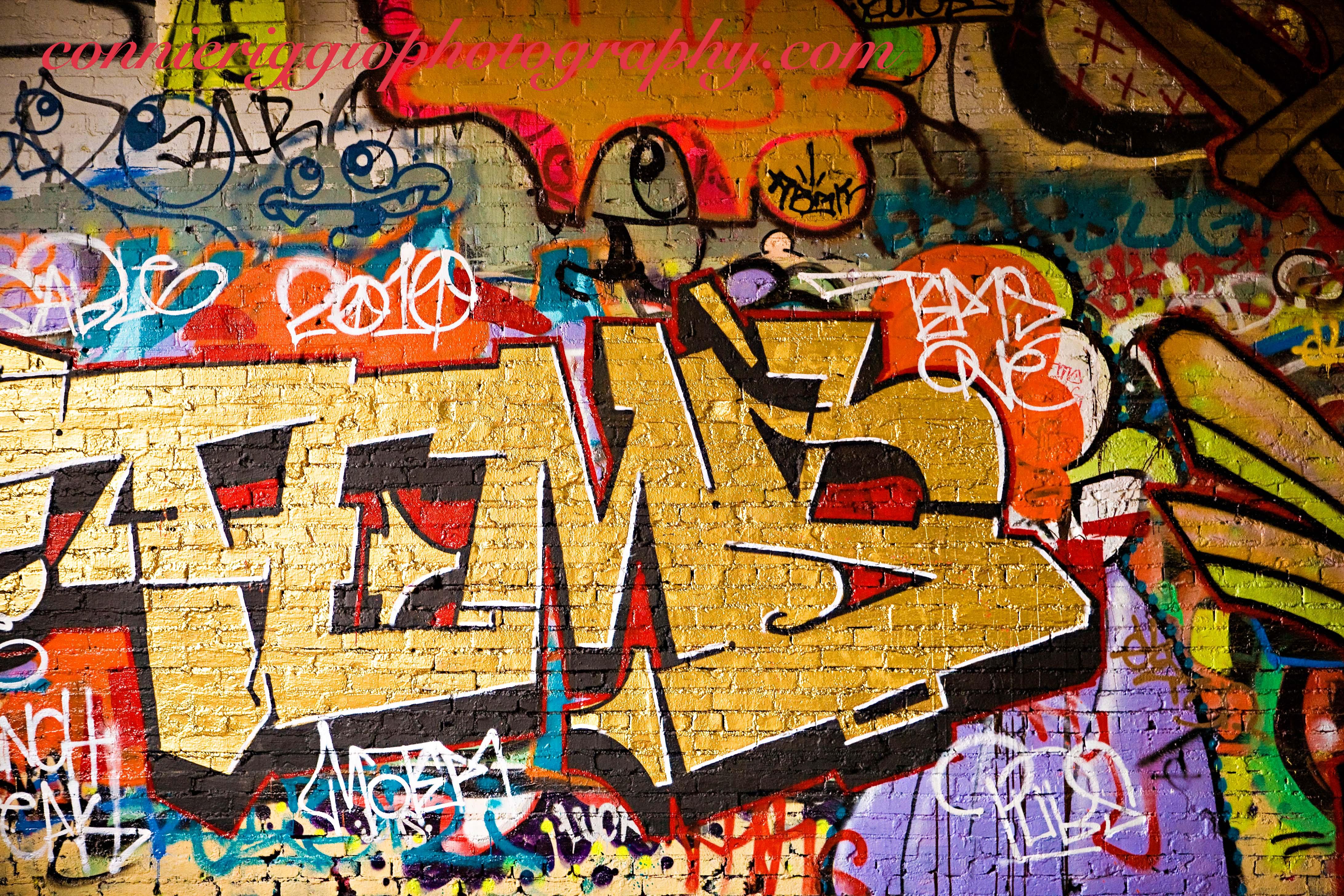 Graffiti wall tacoma - Graffiti Wall