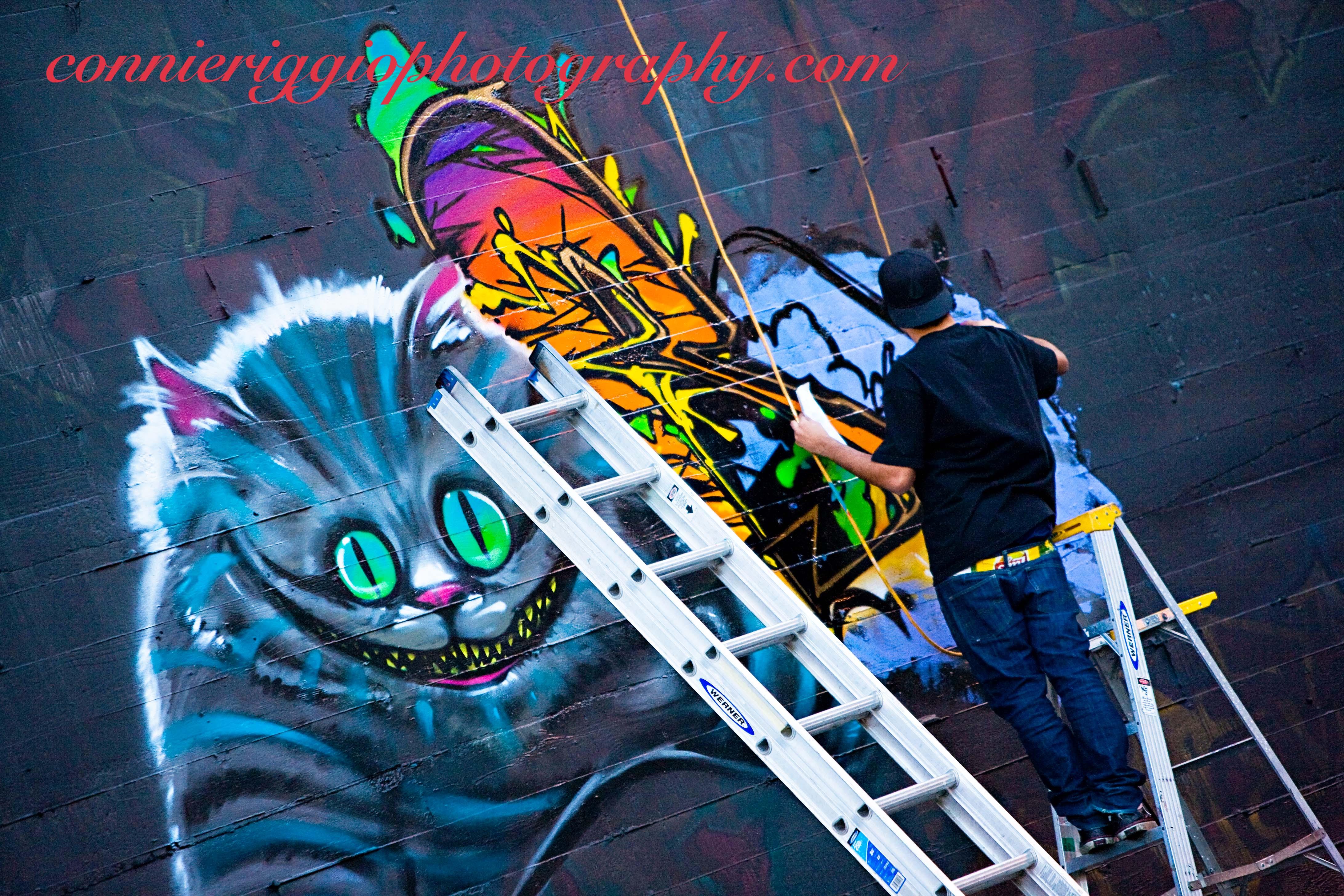 Graffiti wall tacoma - Market Street Graffiti Wall