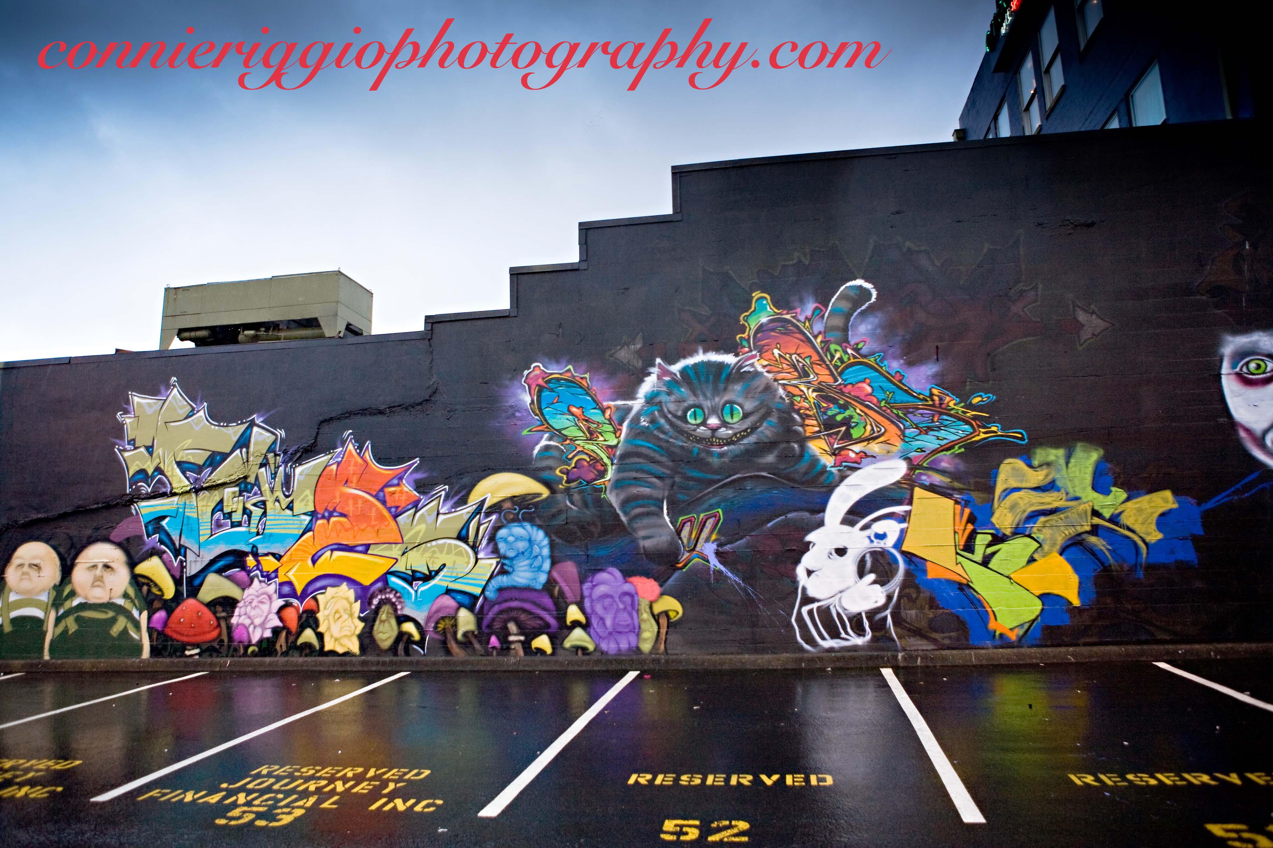 Graffiti wall alice in wonderland update alice in wonderland amipublicfo Images