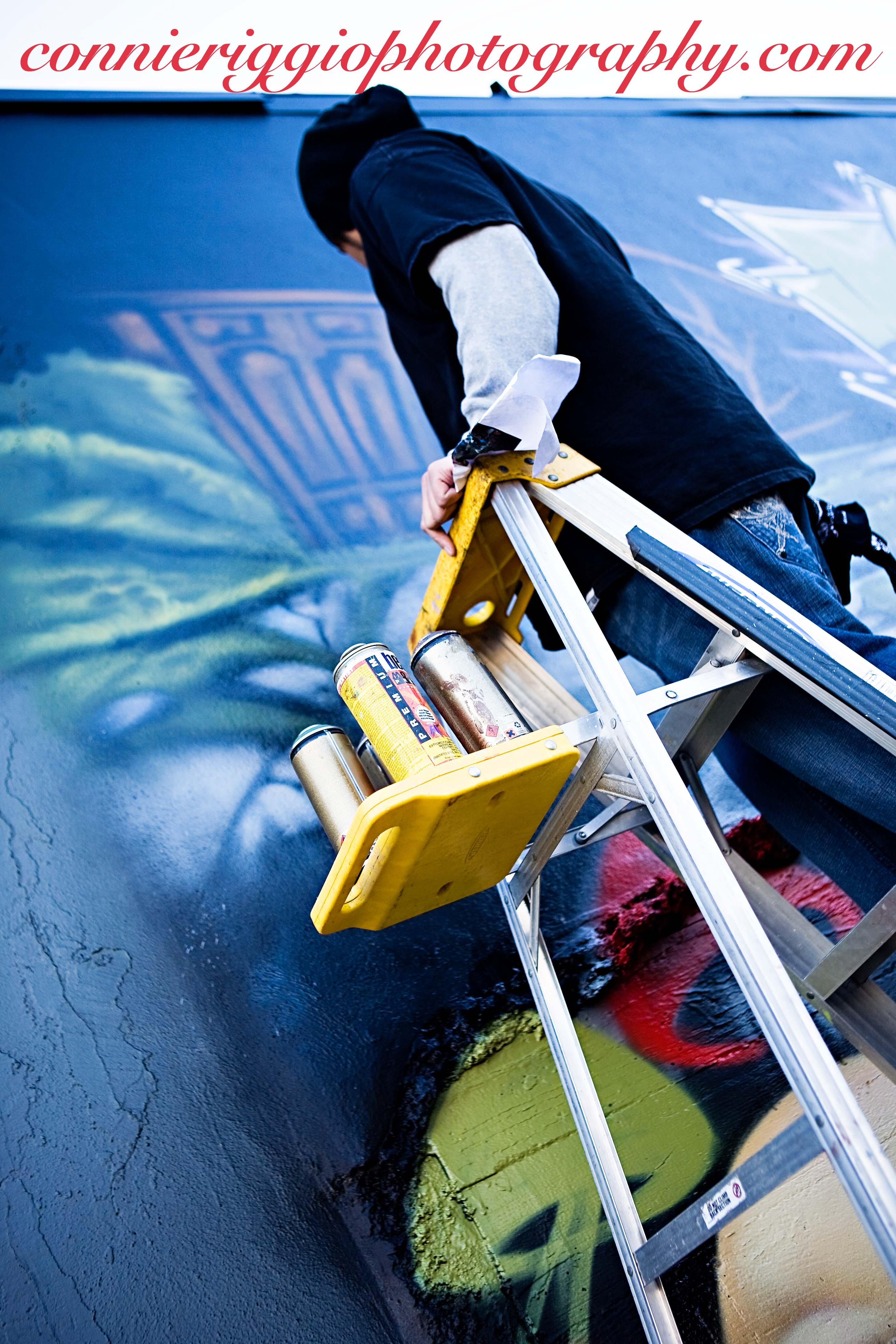 Graffiti wall tacoma - Alice In Wonderland