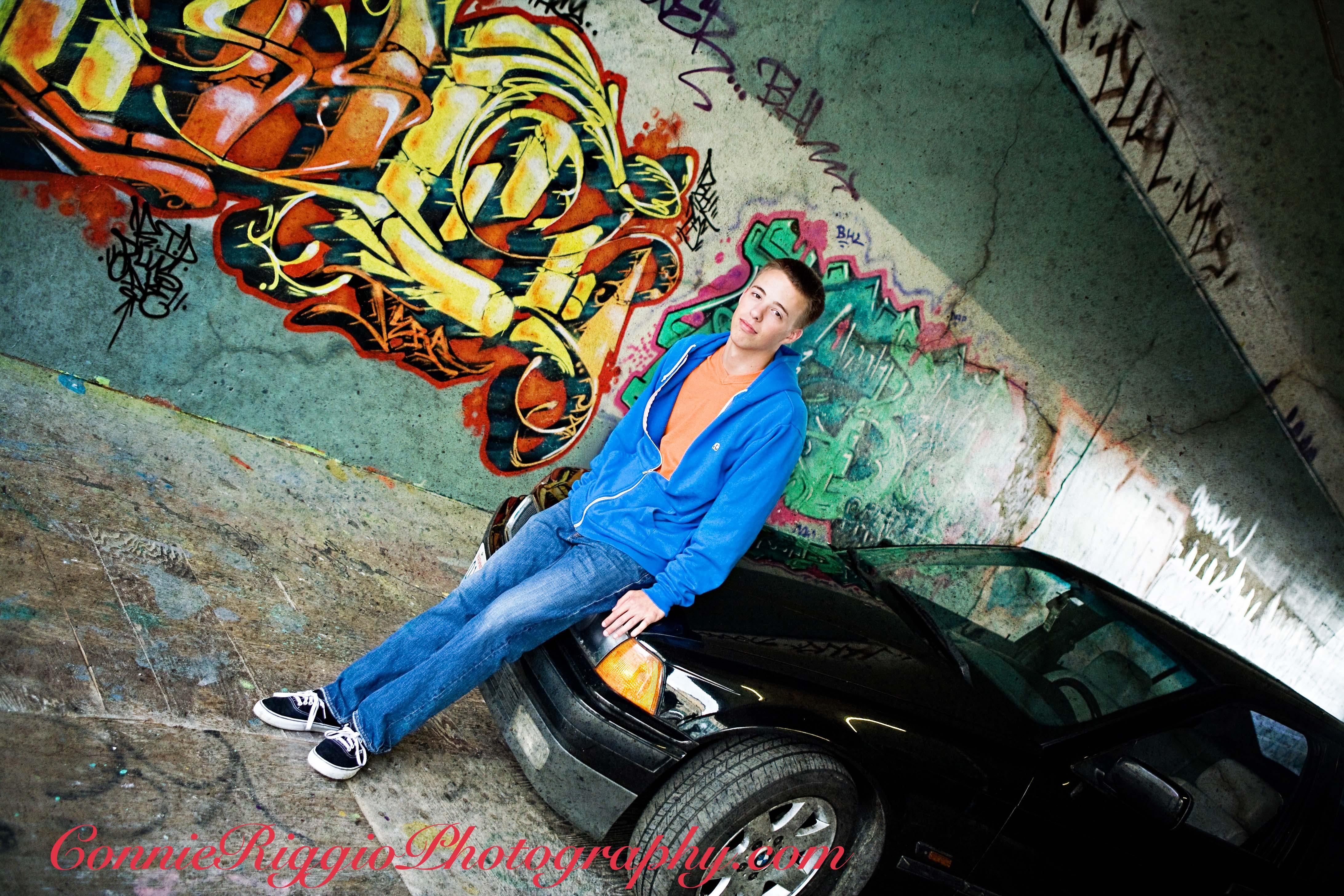 Graffiti wall tacoma - Tacoma Senior Portraits